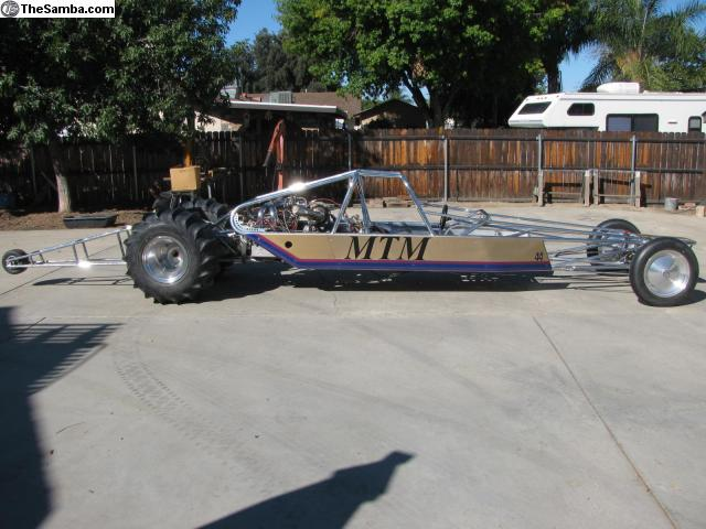 TheSamba com :: VW Classifieds - Sand drag rail/Pauter engine
