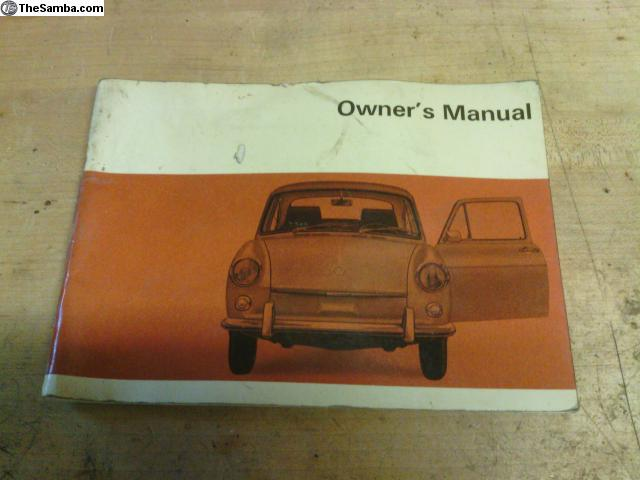 thesamba com vw classifieds 1969 type 3 owners manual rh thesamba com VW Type 3 Fastback VW Type 2
