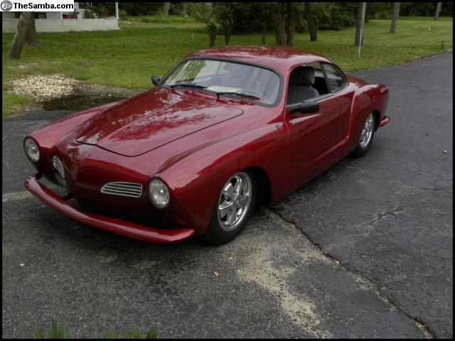 thesamba vw classifieds g eous 1969 custom ghia Karmann Ghia Type 34 frenched and shaved body