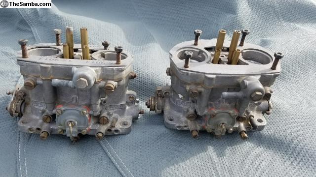 TheSamba com :: VW Classifieds - Dellorto DRLA 36 carbs with