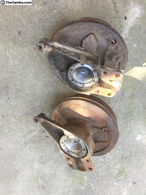 TheSamba com :: VW Classifieds - BUGorama Early Bay Rear Axle Components