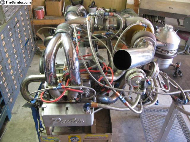 TheSamba com :: VW Classifieds - Pauter Race engine