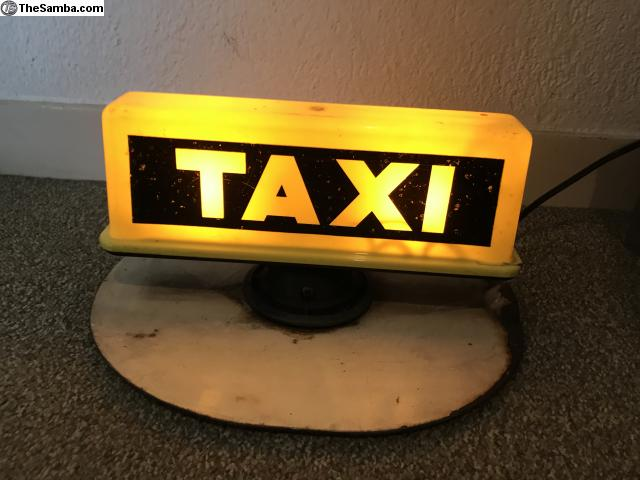 TheSamba com :: VW Classifieds - Vintage TAXI roof light