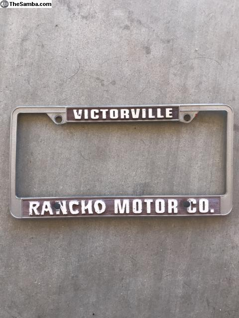 Rancho Motors Victorville >> Thesamba Com Vw Classifieds Vintage Victorville Rancho Motors