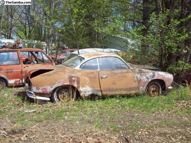 TheSamba com :: VW Classifieds - VW salvage yard