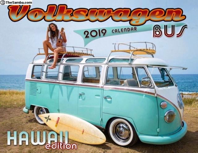 Thesamba Com Vw Classifieds Volkswagen Bus 2019 Calendar Hawaii