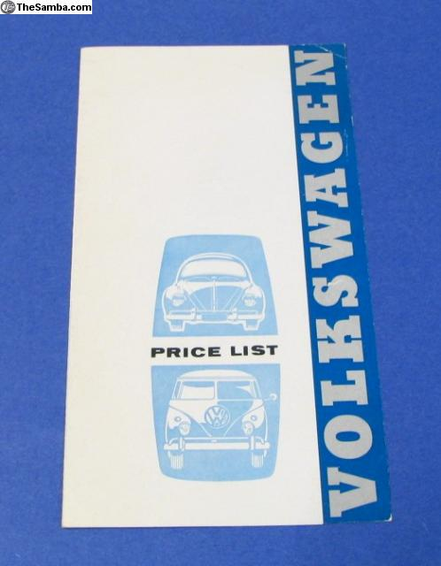 TheSamba com :: VW Classifieds - Early 1960's Volkswagen