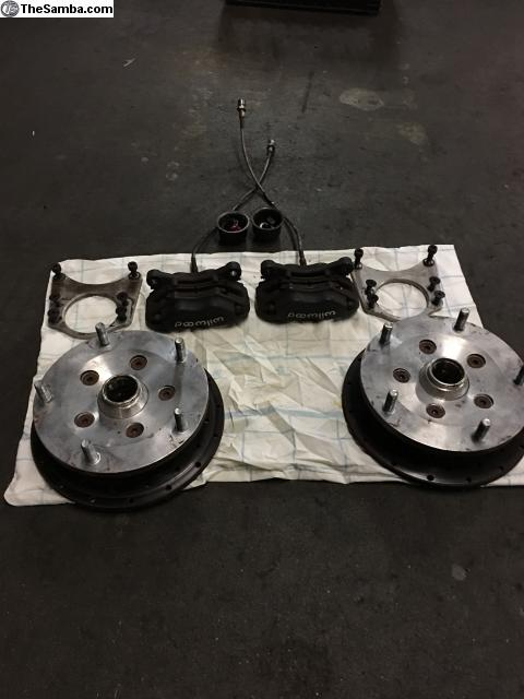 TheSamba com :: VW Classifieds - Used Arkweld front disc brake kit