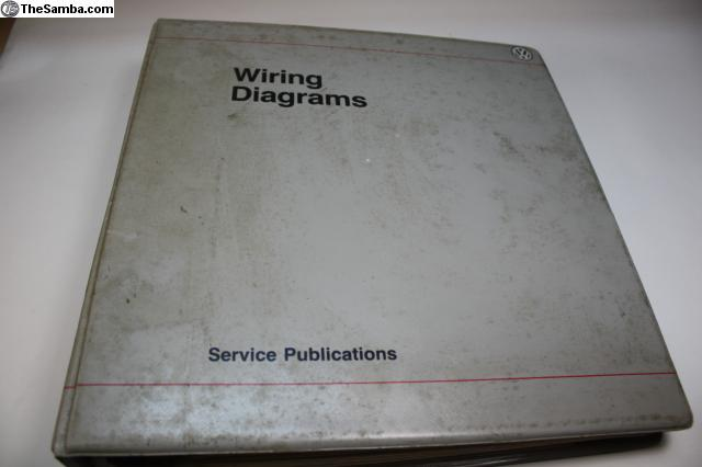 thesamba  vw classifieds  198689 wiring diagram book