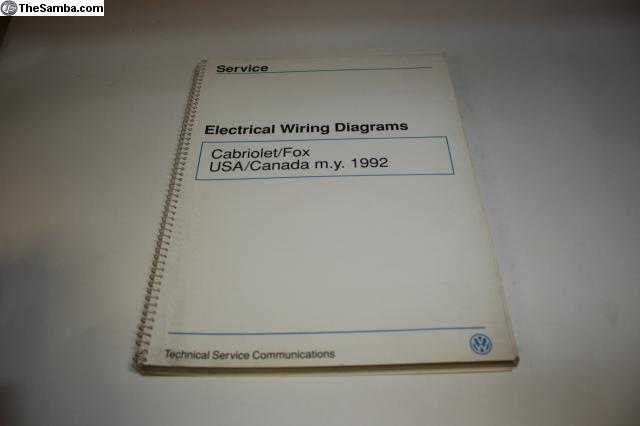 1992 vw cabriolet wiring diagram thesamba com vw classifieds 1992 cabriolet fox wiring diagrams  thesamba com vw classifieds 1992