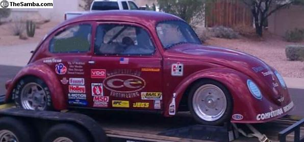 TheSamba com :: VW Classifieds - Vintage 1956 Tube Chassis Drag Car