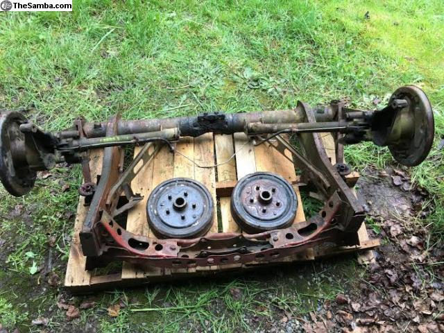 TheSamba com :: VW Classifieds - 73 bay bus irs rear suspension