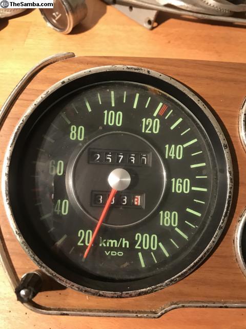 TheSamba com :: VW Classifieds - Speedo fuel gauge - Porsche