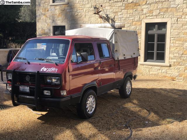 TheSamba com :: VW Classifieds - 1989 VW tristar doka syncro