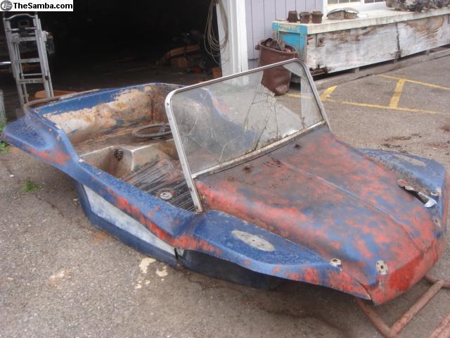 TheSamba com :: VW Classifieds - Dune Buggy body w/pan