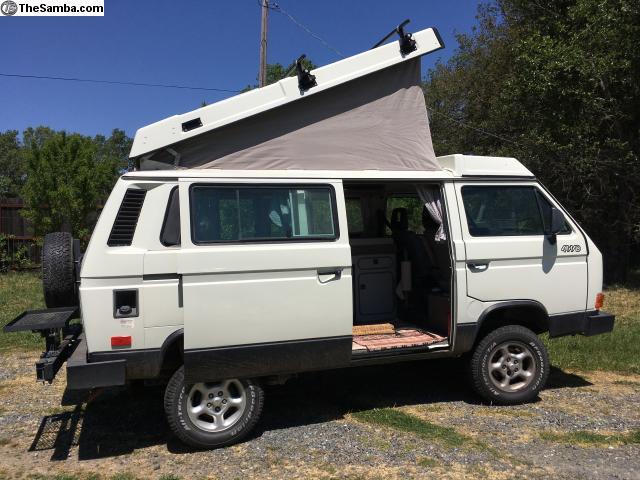 TheSamba com :: VW Classifieds - Clean 1991 Syncro 4x4 Westfalia