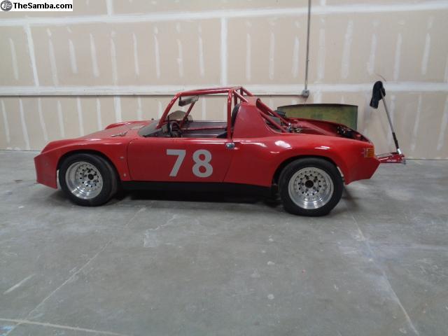 TheSamba com :: VW Classifieds - 914-6 Race Car Chassis