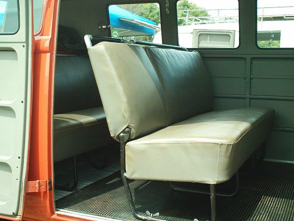 split bus view topic 1960 bus seats. Black Bedroom Furniture Sets. Home Design Ideas