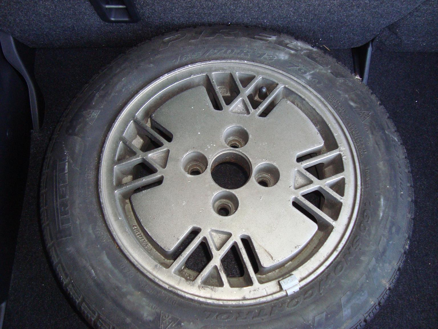 Rare alloywheel for early watercooled VW