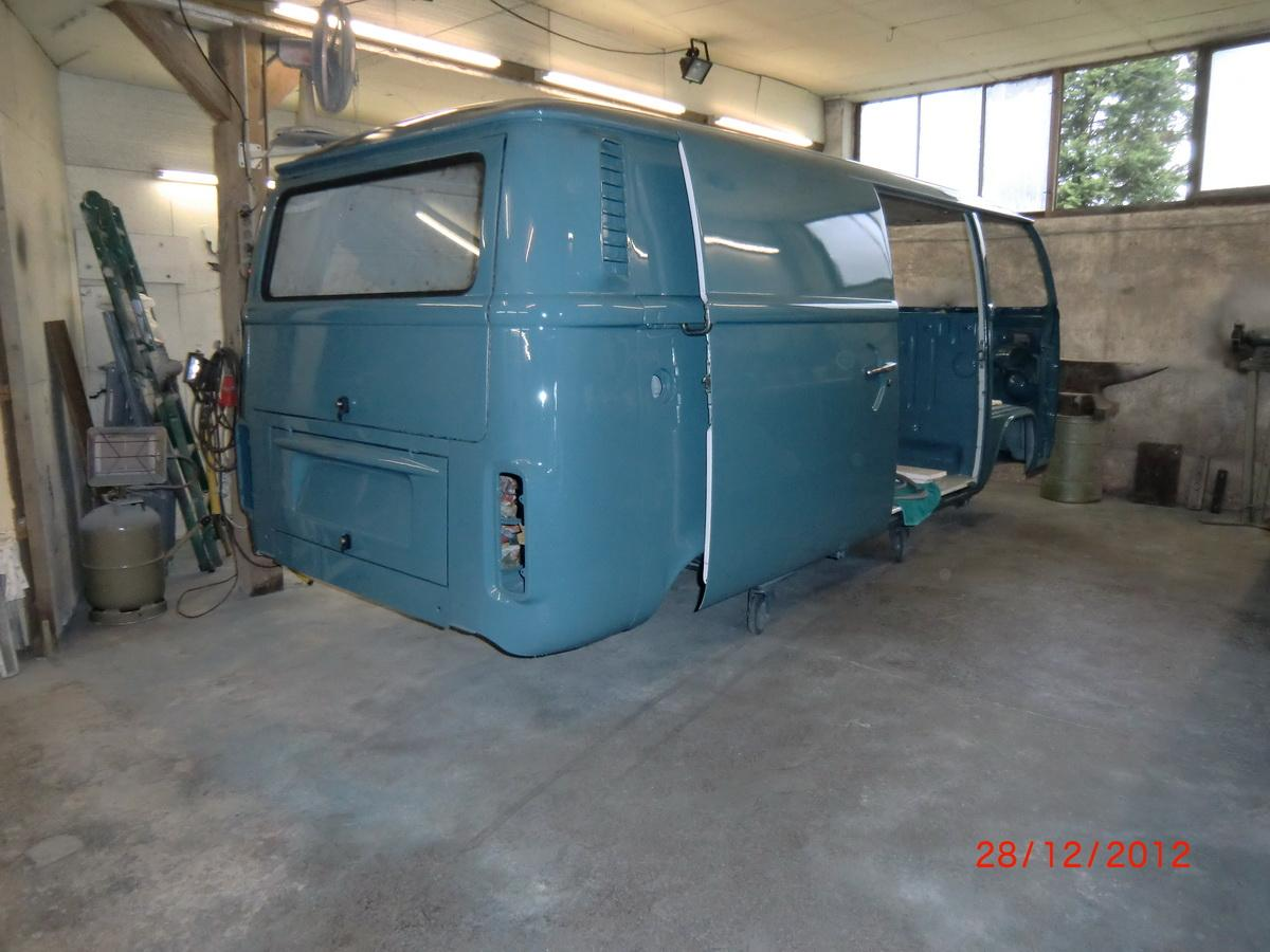 Panelvan from 1978