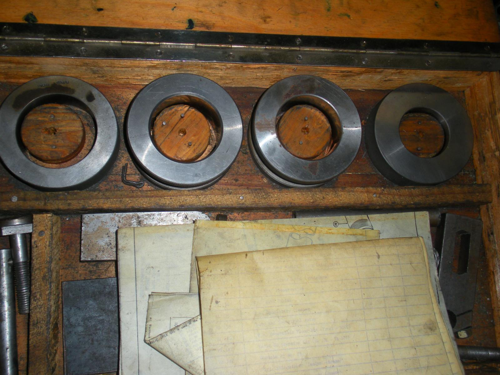 Ludwig-Hunger Crankcase reconditioning set VW247 Master gauges
