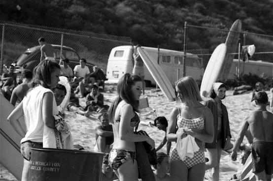 Vintage VWs and the Surf Scene