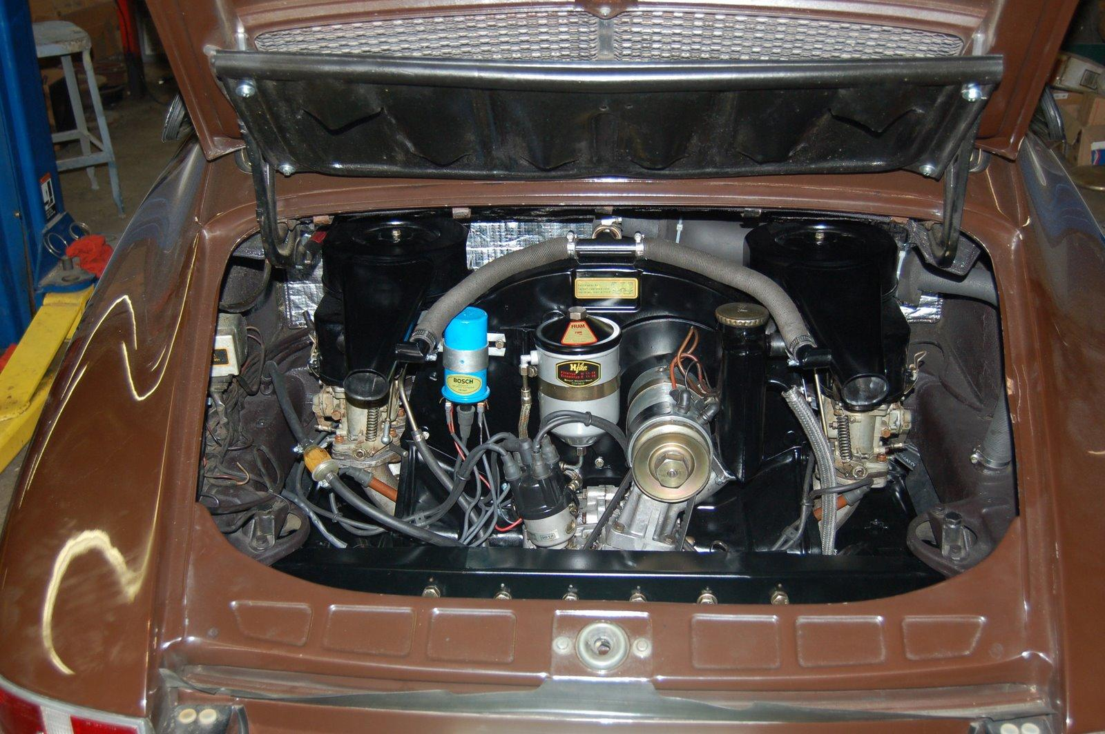 912 Engine Area