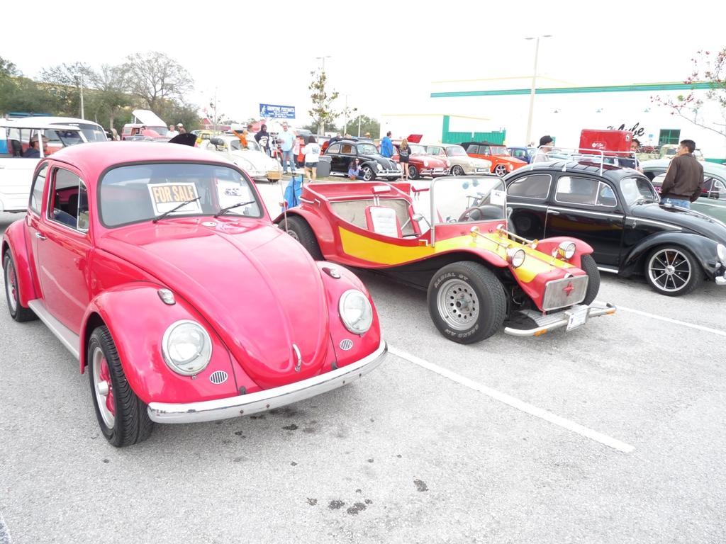 Kenny's Bug and Island Girl's Buggy