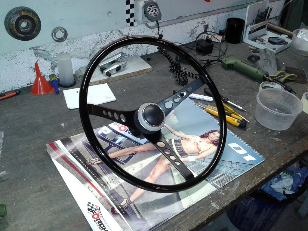 customised superior steering wheel