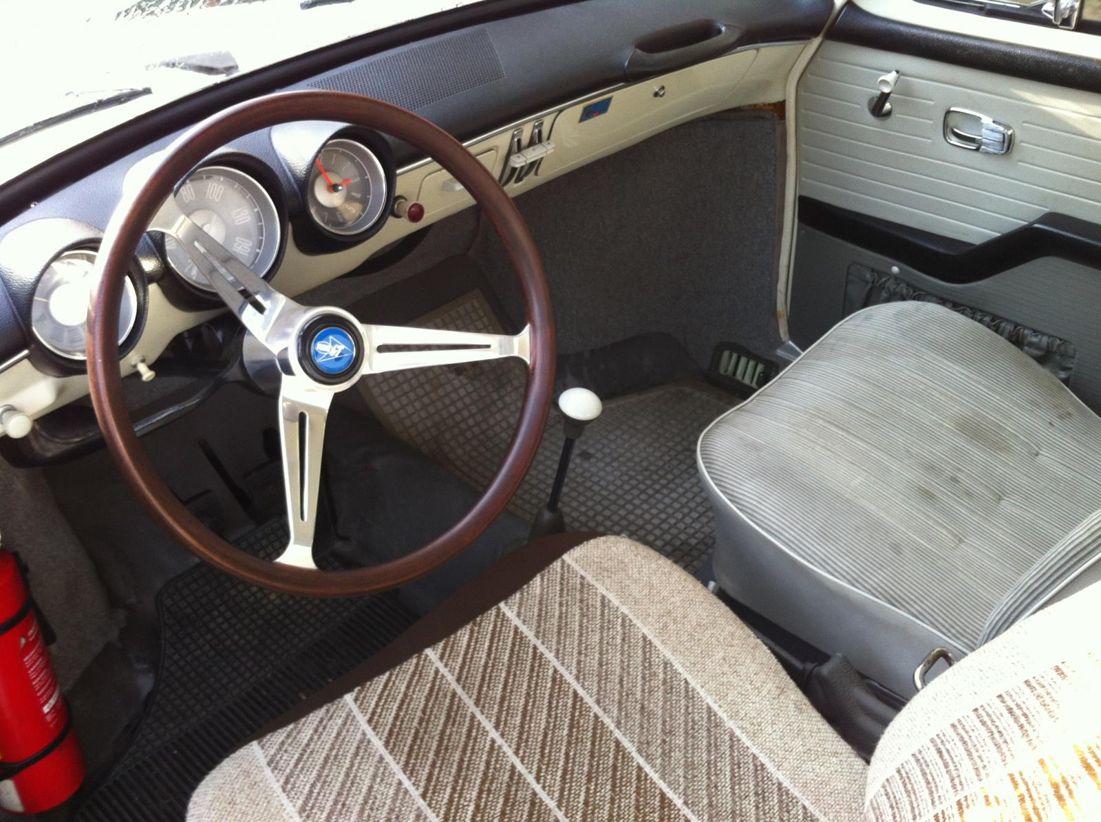 1965 1500S Pearl White with Silver Cord