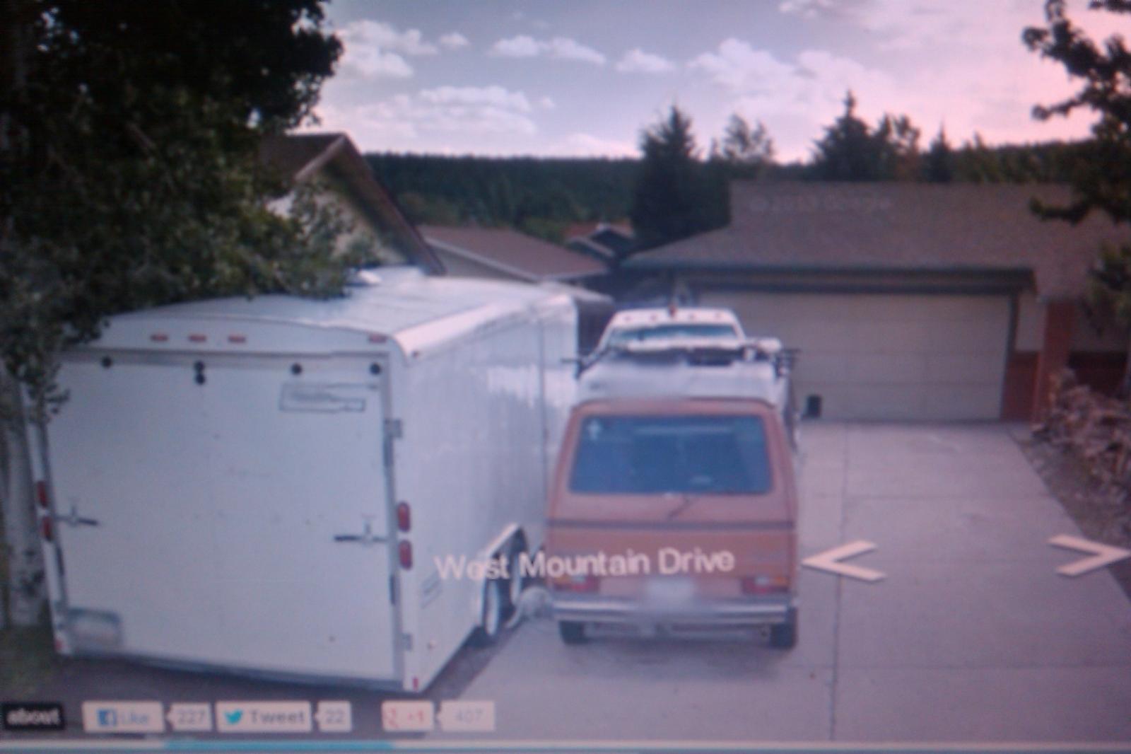 Google van street view