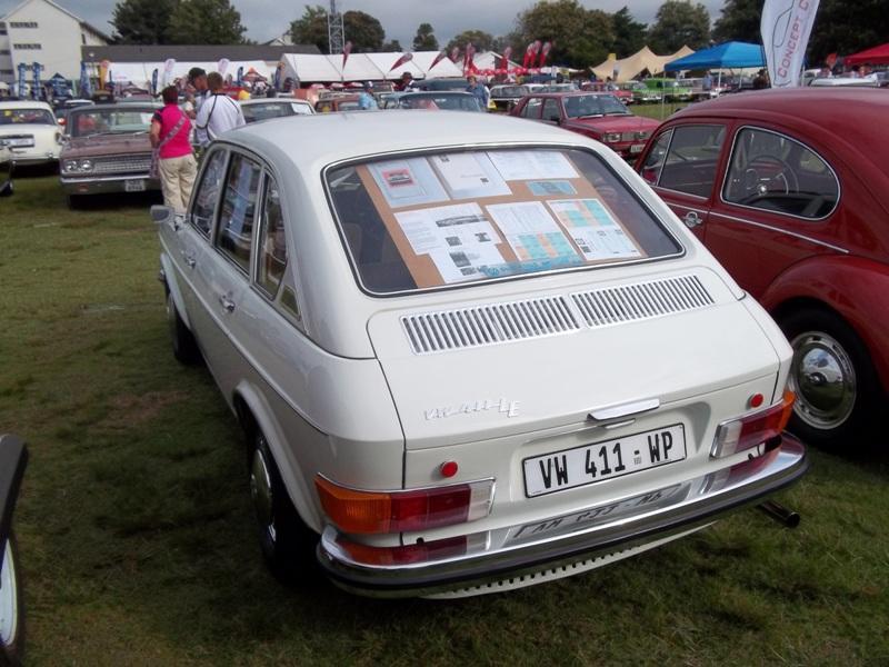 VW 411 4-door sedan, South Africa
