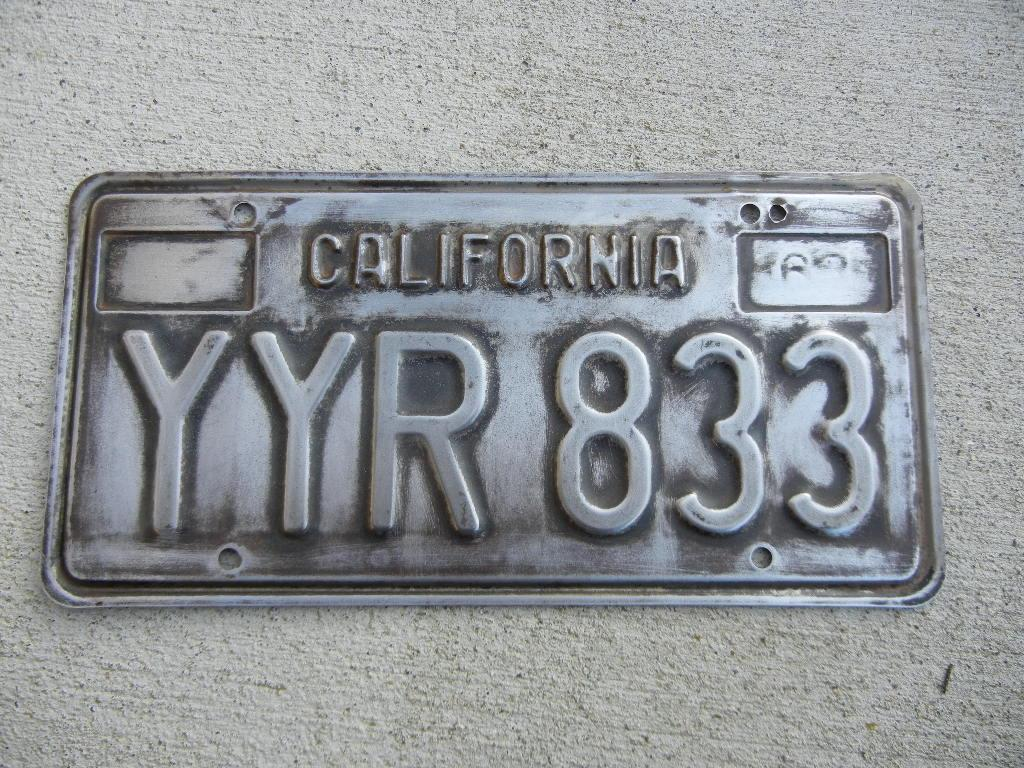 TheSamba.com :: Ghia - View topic - Restoring old license plates ...
