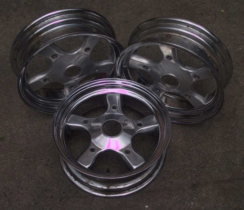 unknown wheels, not dragway as previously thought