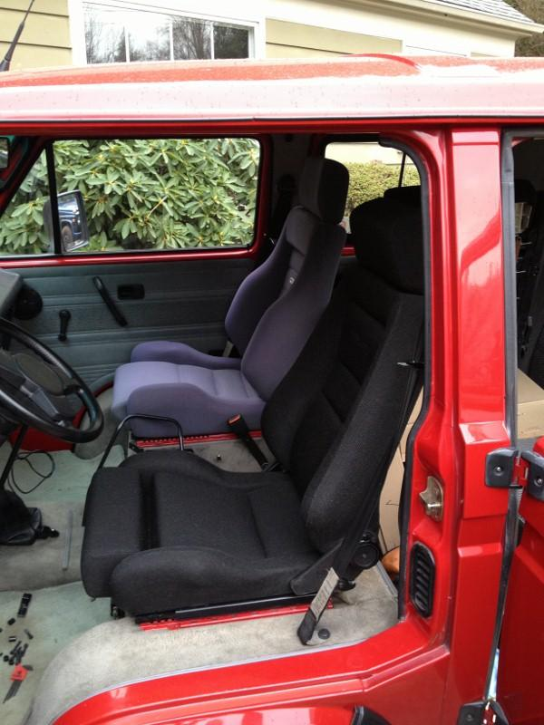 TheSamba com :: Vanagon - View topic - Aftermarket seats in