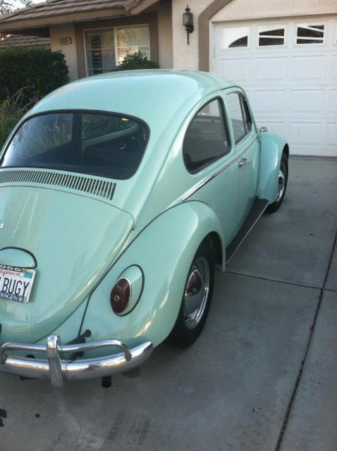 FOUND - 1966 Beetle Stolen from Ontario, CA
