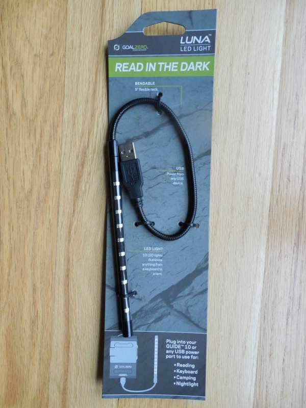 Goal Zero Luna - USB powered flexible LED light