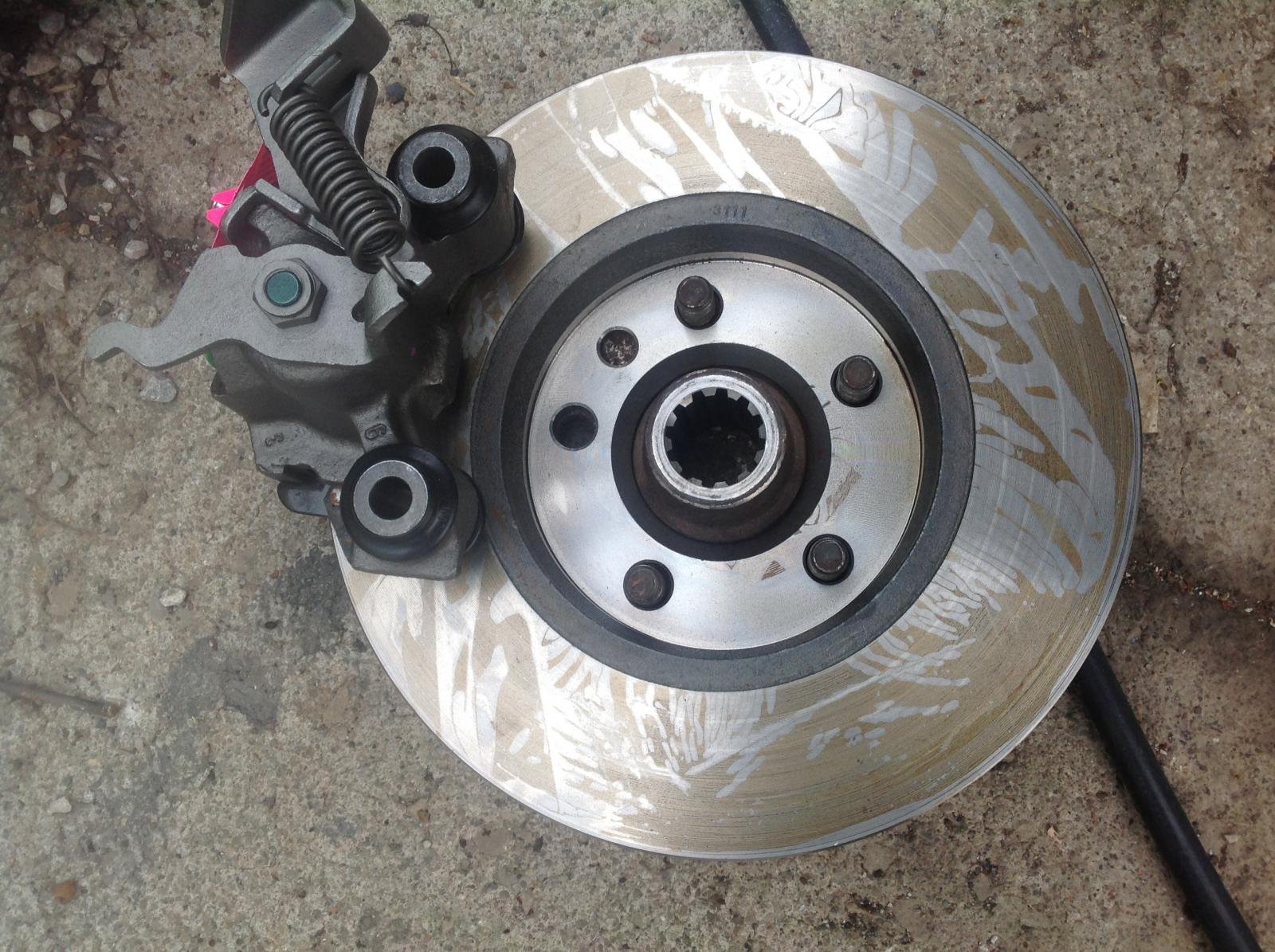 W-body gm calipers and eurovan rear discs