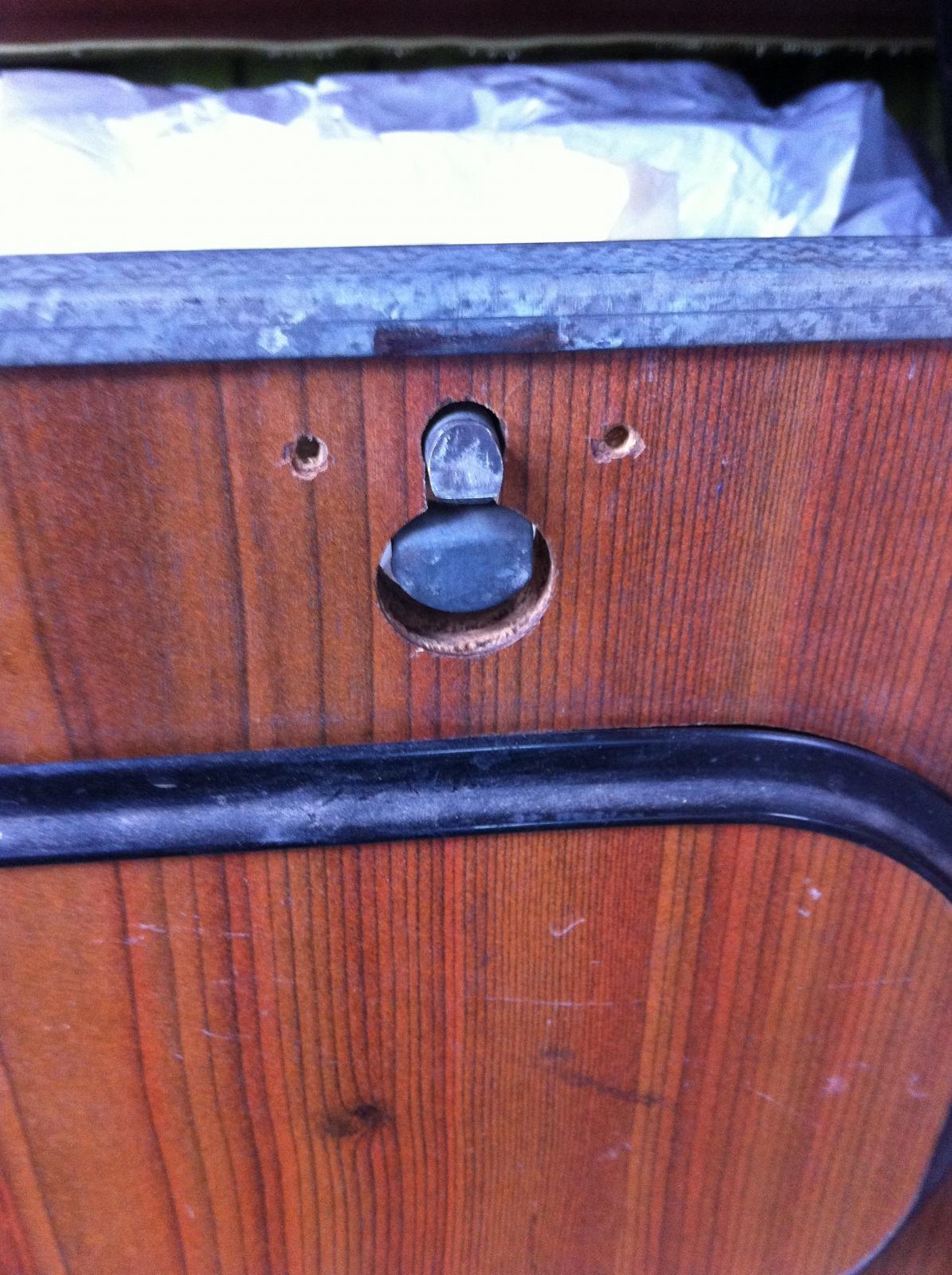 Westy locker lock