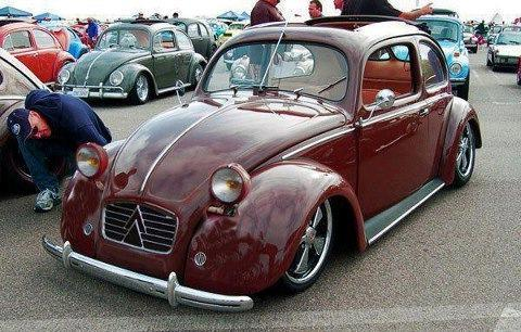 a custom split beetle??