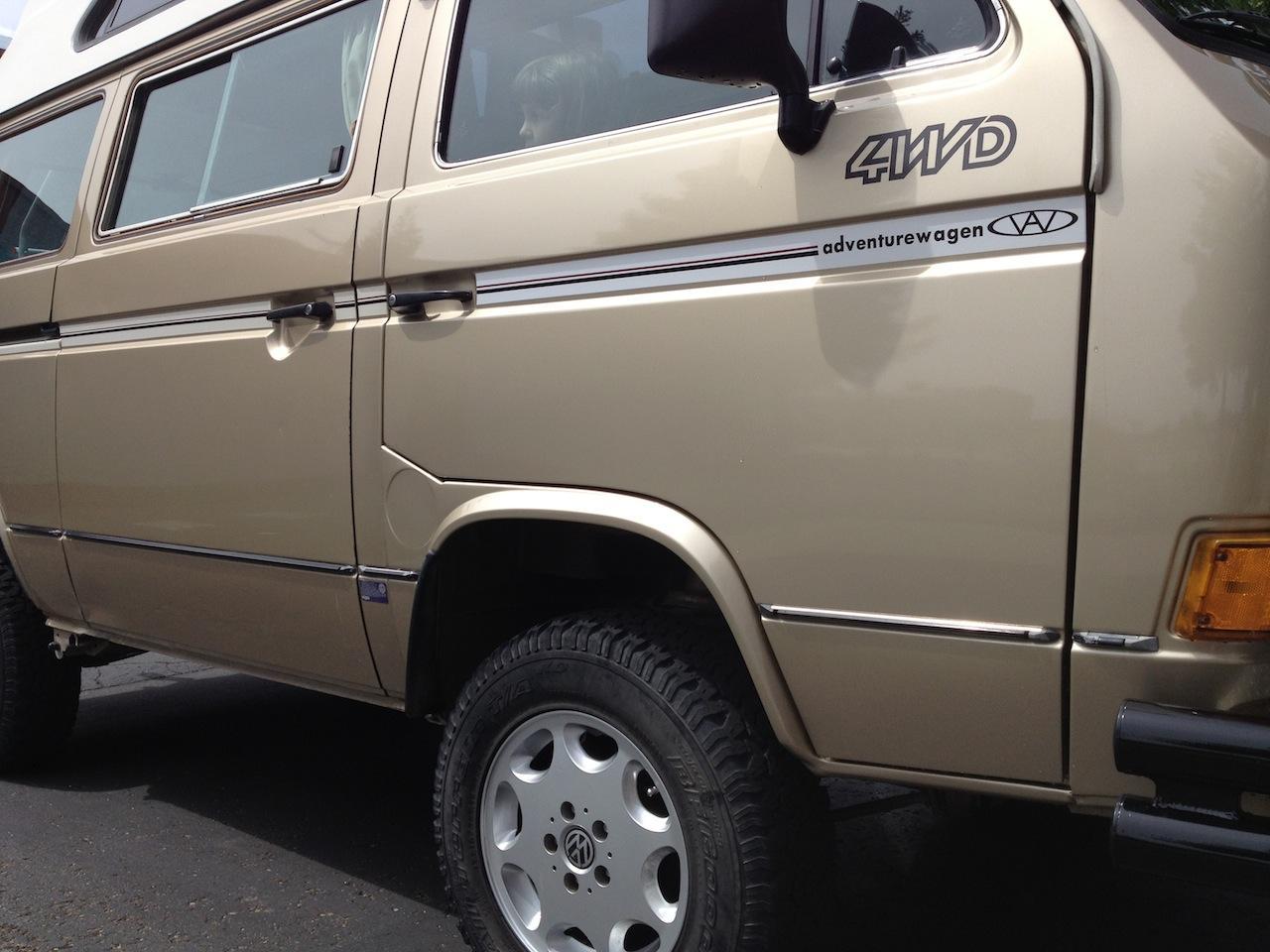 Fixed Adventurewagen door
