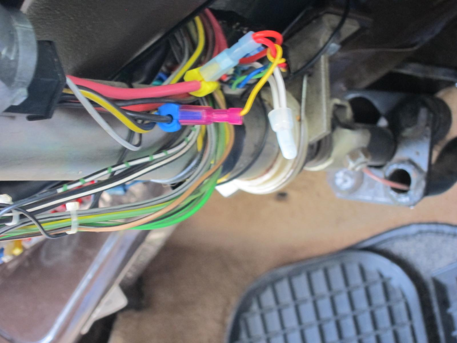 taps on ignition wiring