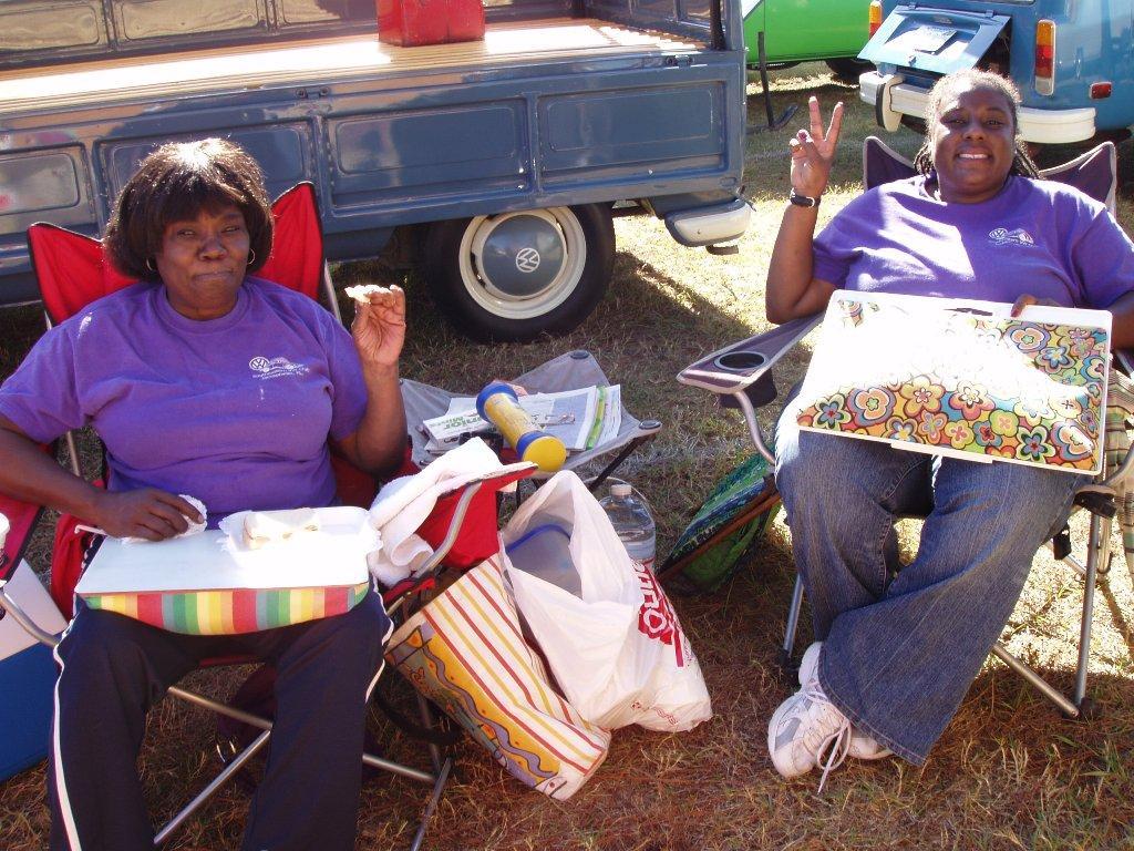 The Purple Bus Ladies