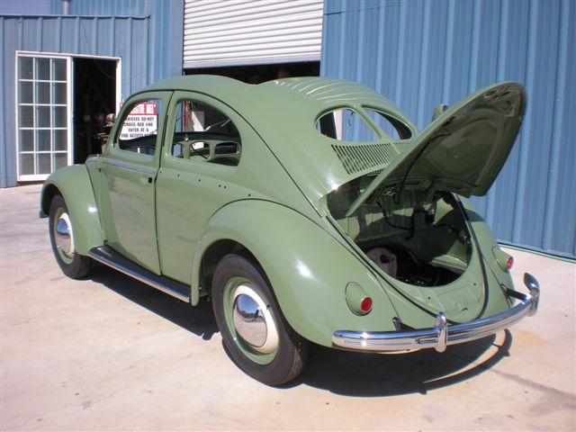 L13 Beetle - Medium Green