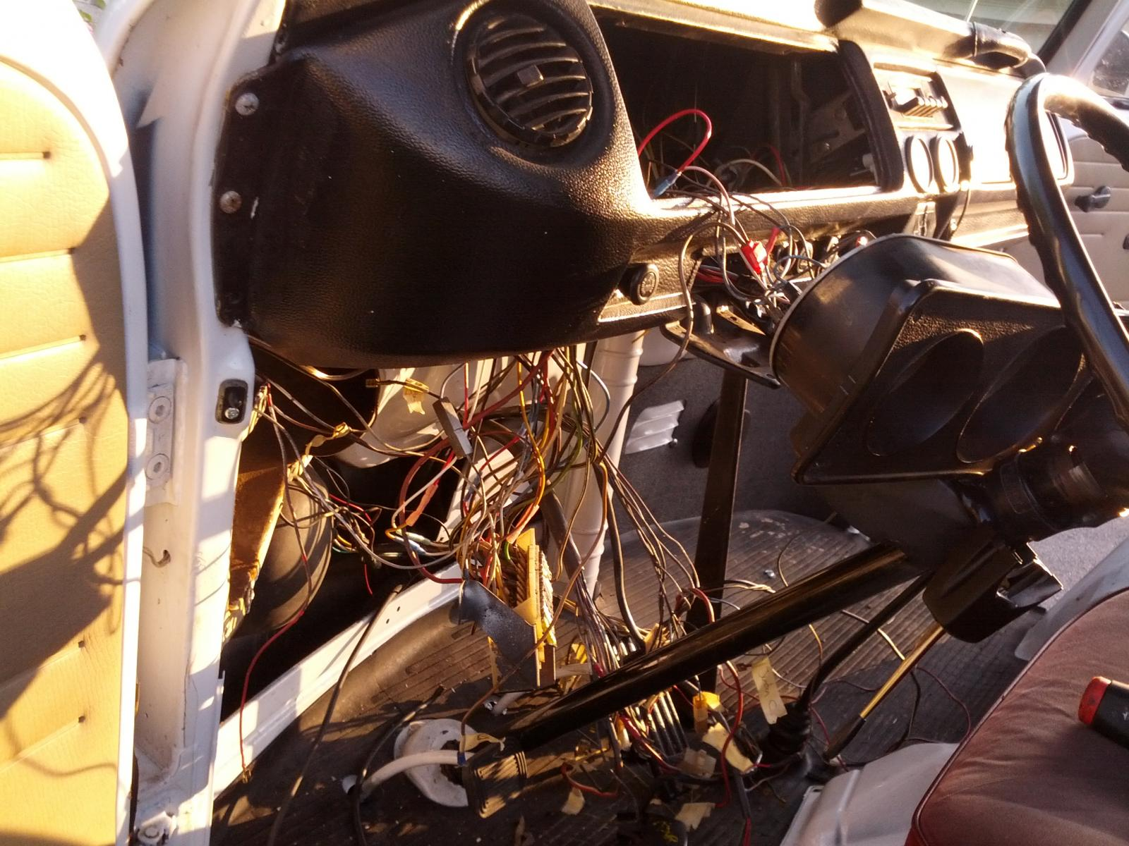 Rebuiltmotor Back In I Have A Ground Wirewiring Harnessgos
