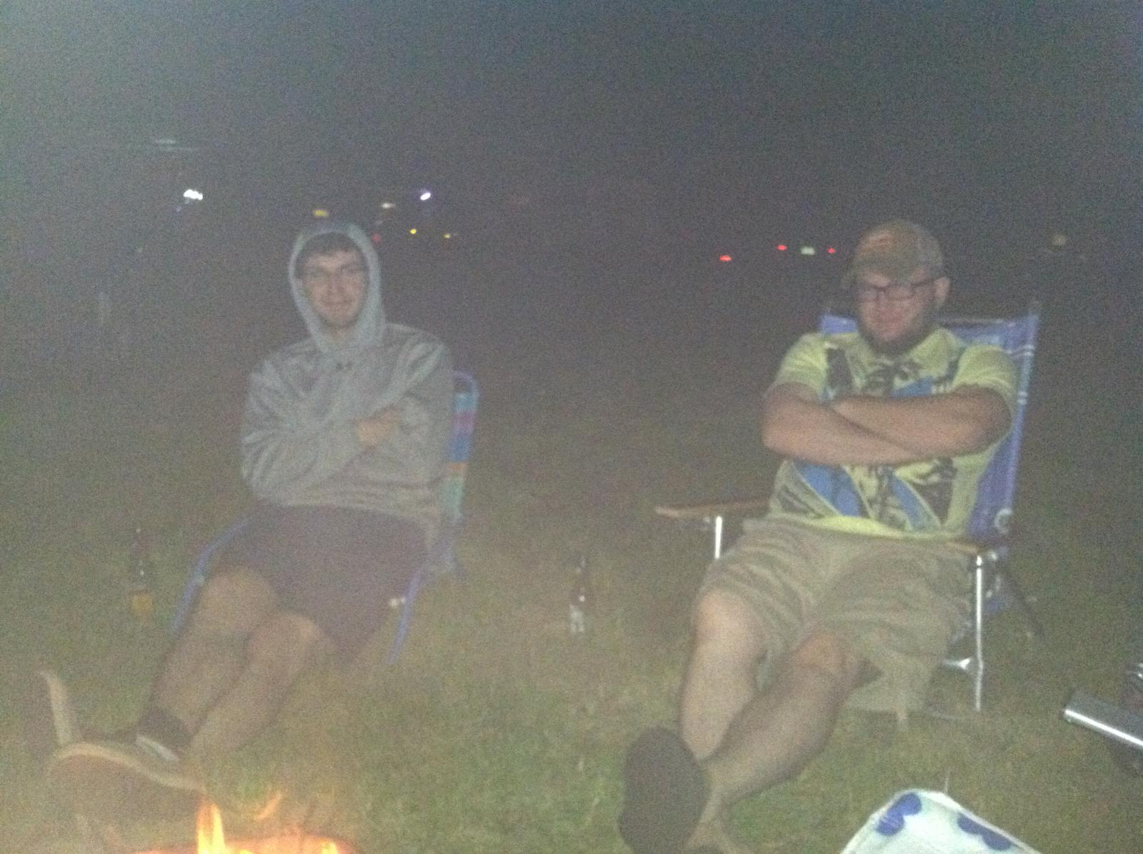 little campfire at Litchfield 2013
