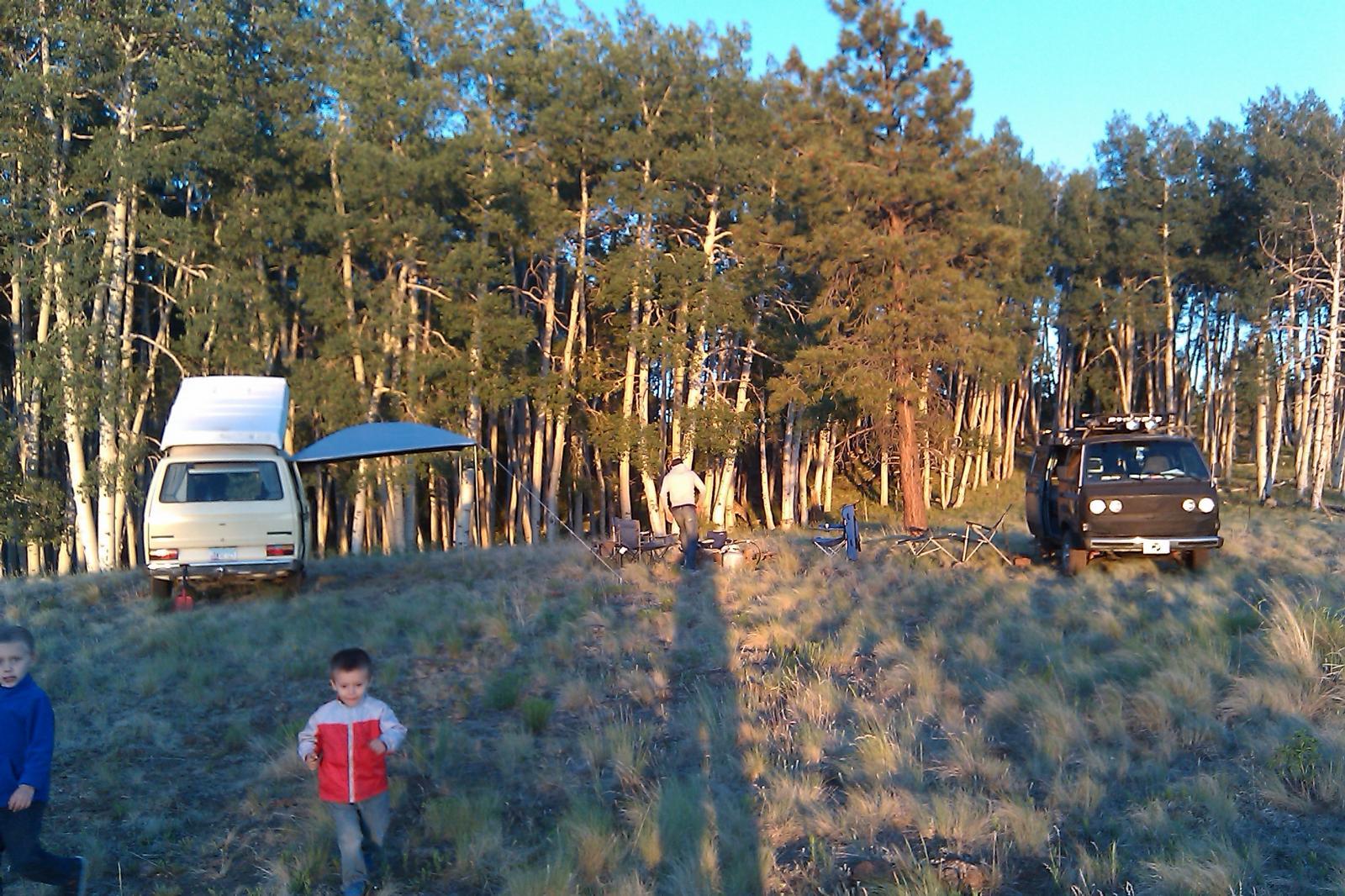 June camping