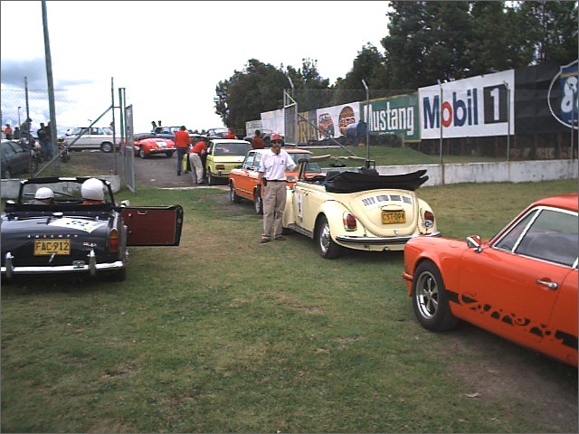 1969 Cabriolet at the Rallye La Lechuza 2003