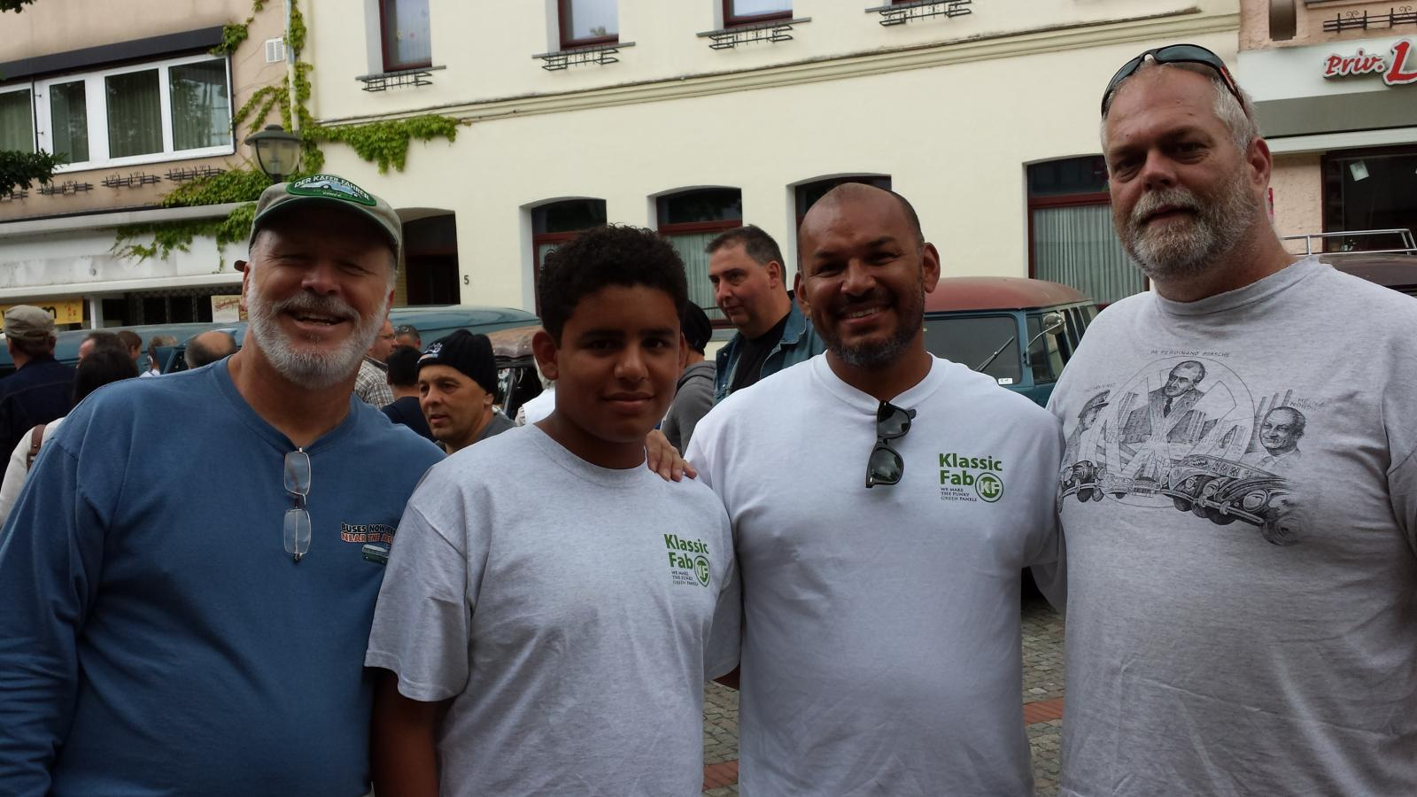 with Gerson and son at Hessisch-Oldendorf 2013