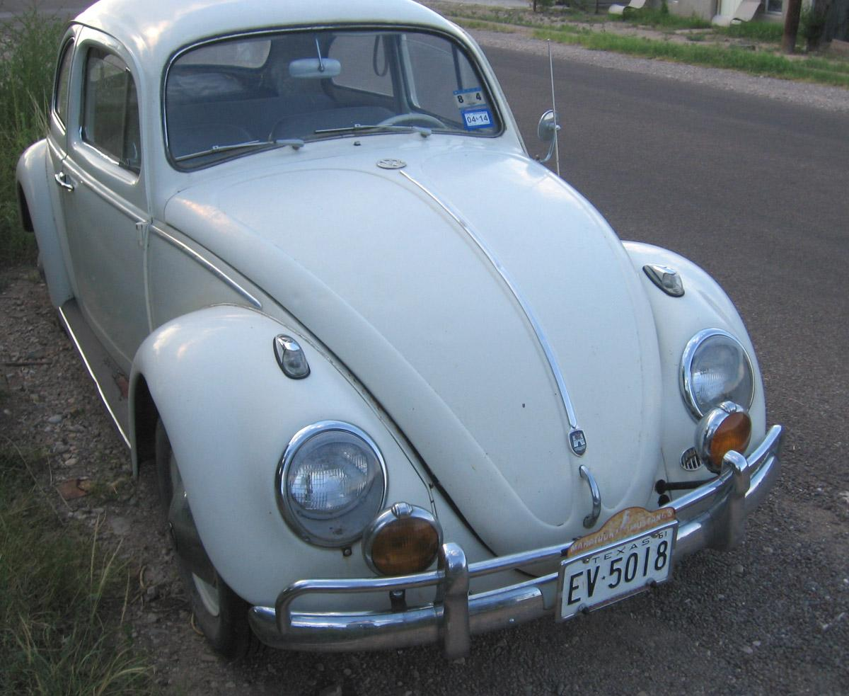 Beetle with old Unity Fog lights
